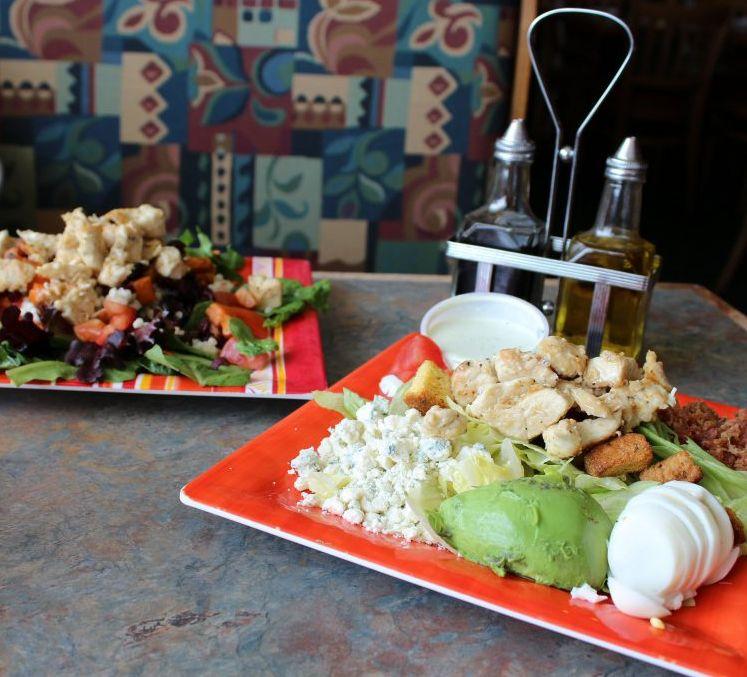 mixing bowl salads